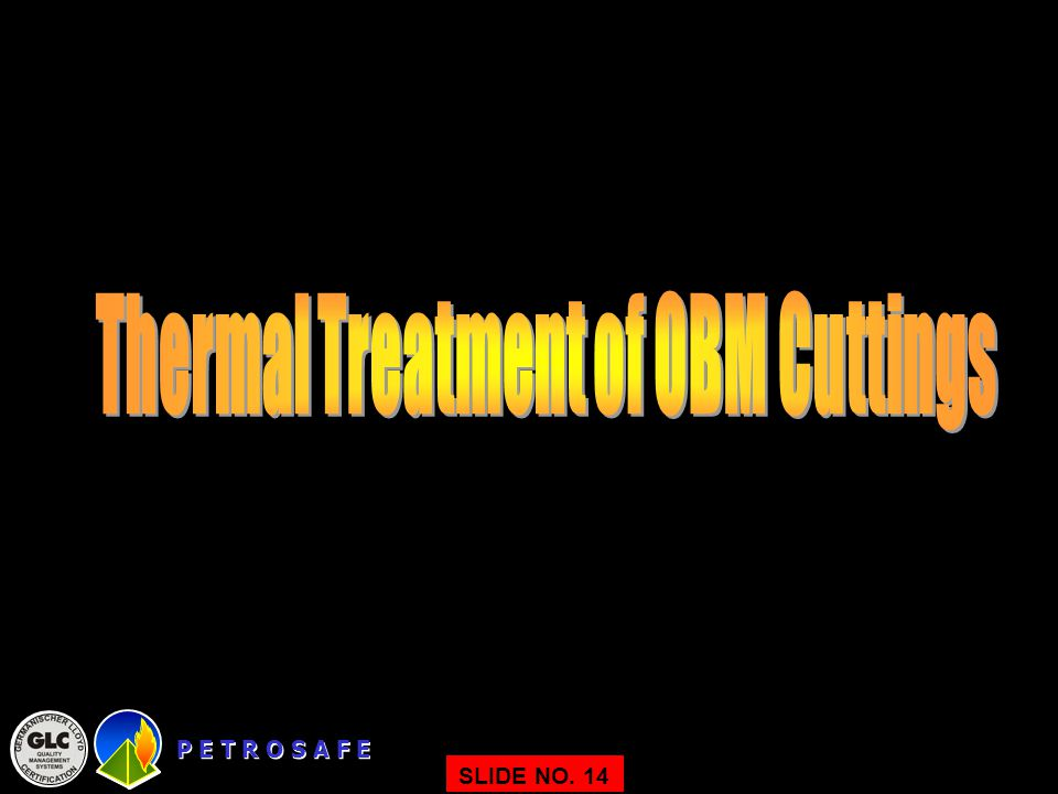 Thermal Treatment of OBM Cuttings