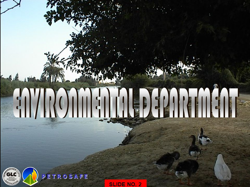 ENVIRONMENTAL DEPARTMENT