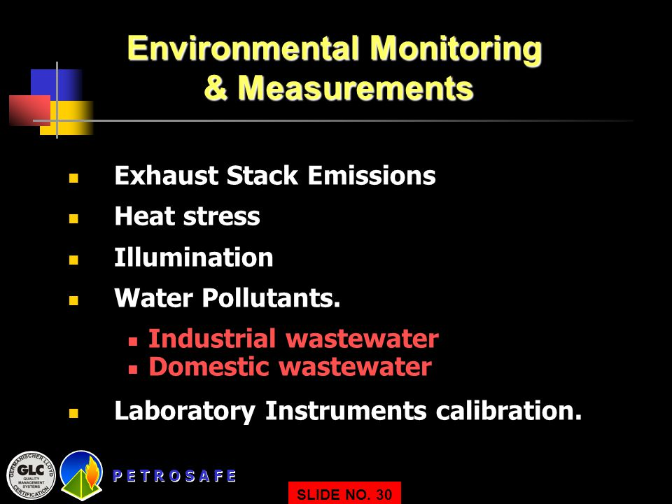 Environmental Monitoring & Measurements