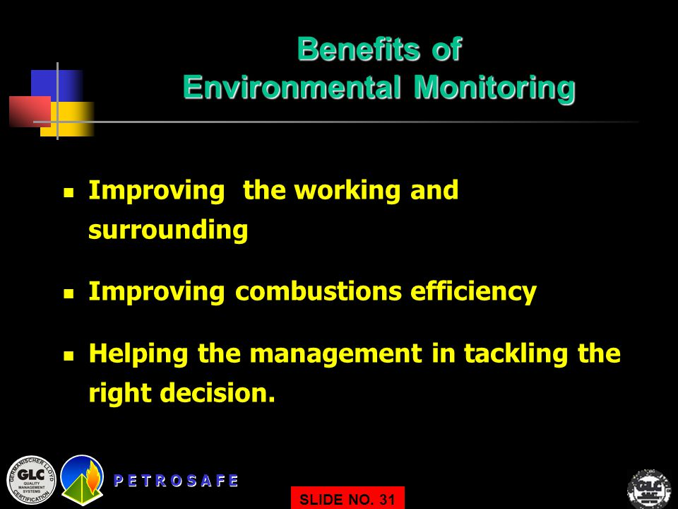 Benefits of Environmental Monitoring