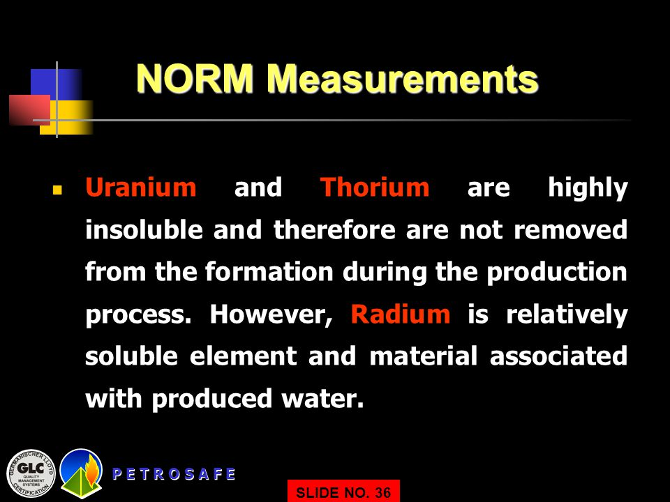 NORM Measurements