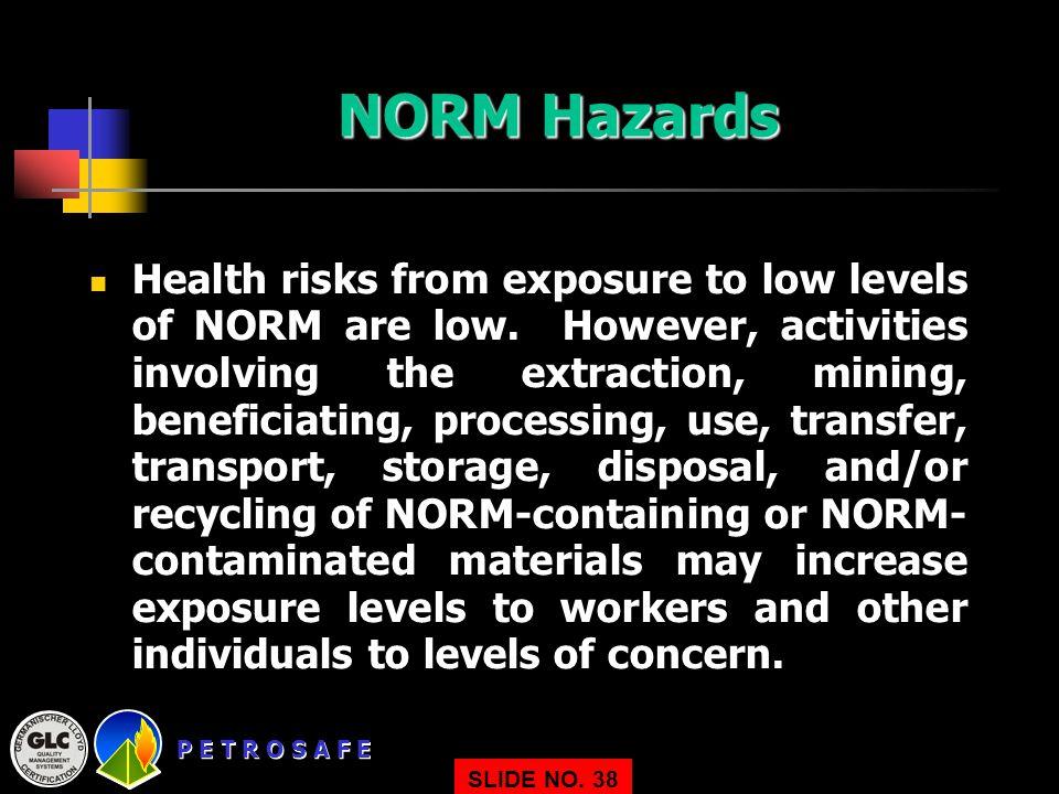 NORM Hazards