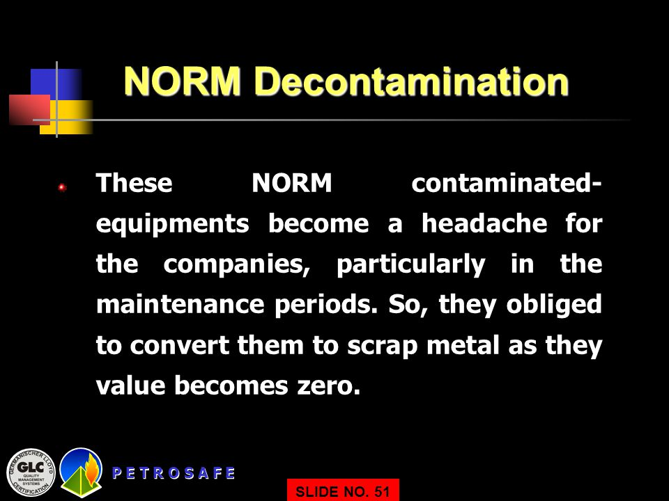 NORM Decontamination