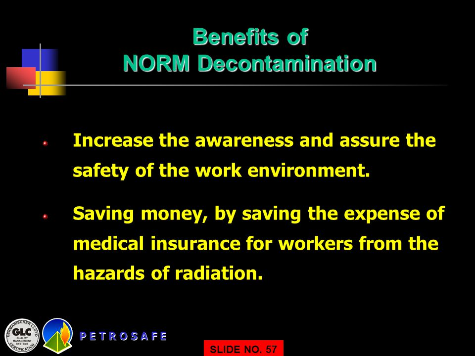 Benefits of NORM Decontamination