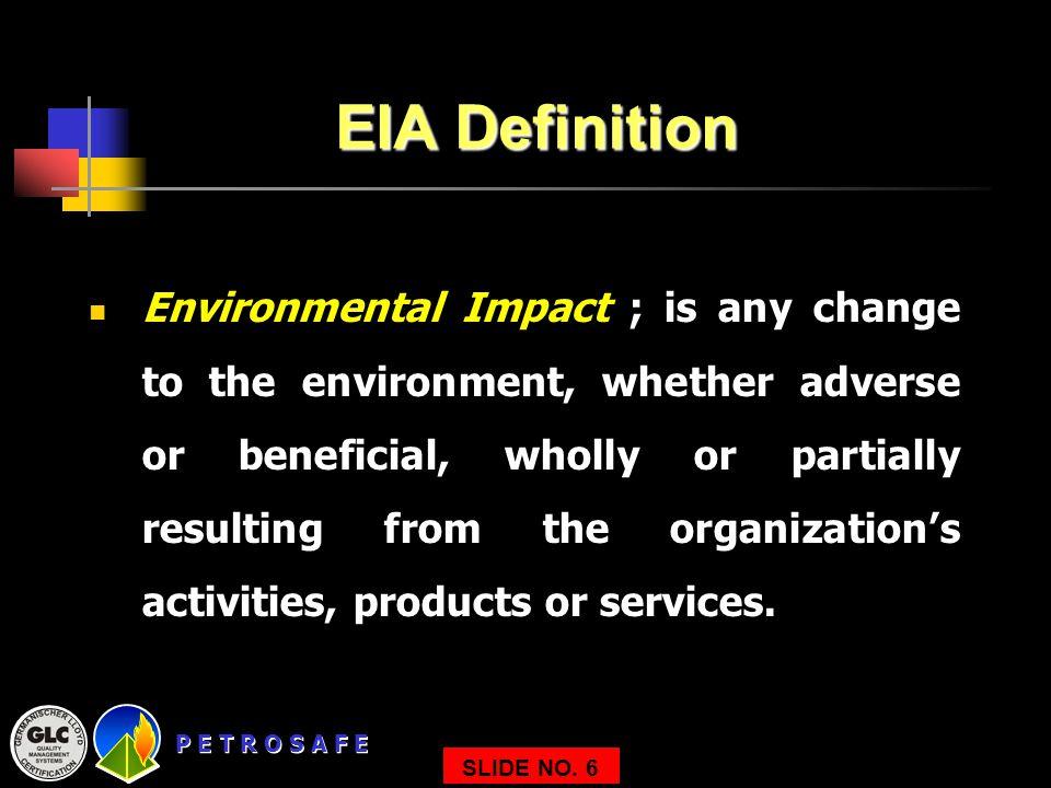 EIA Definition