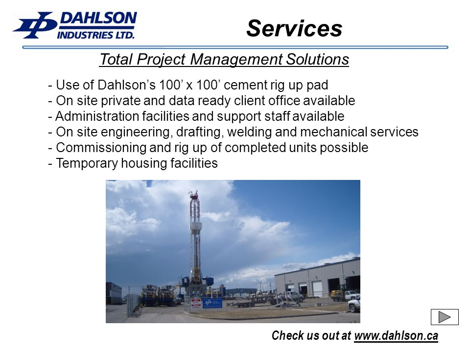 Services Total Project Management Solutions