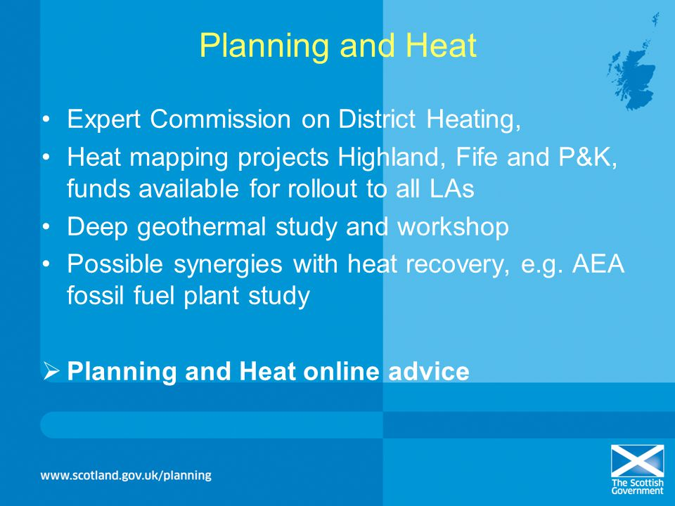 Planning and Heat Expert Commission on District Heating,