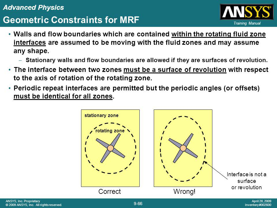 Geometric Constraints for MRF