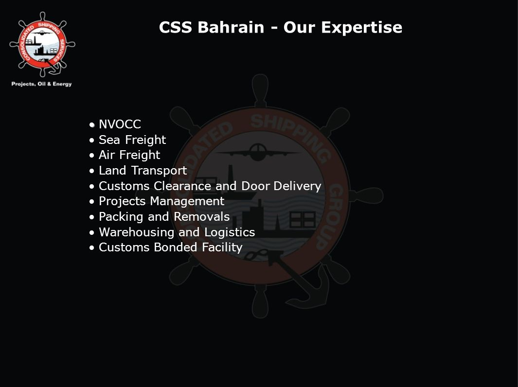 CSS Bahrain - Our Expertise