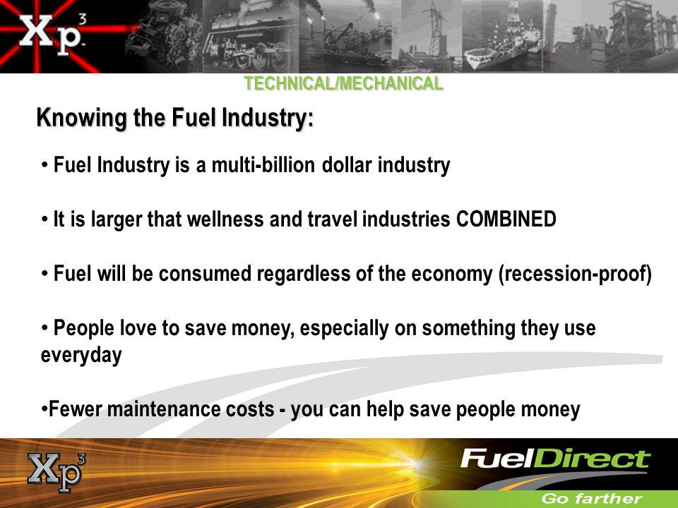 Knowing the Fuel Industry:
