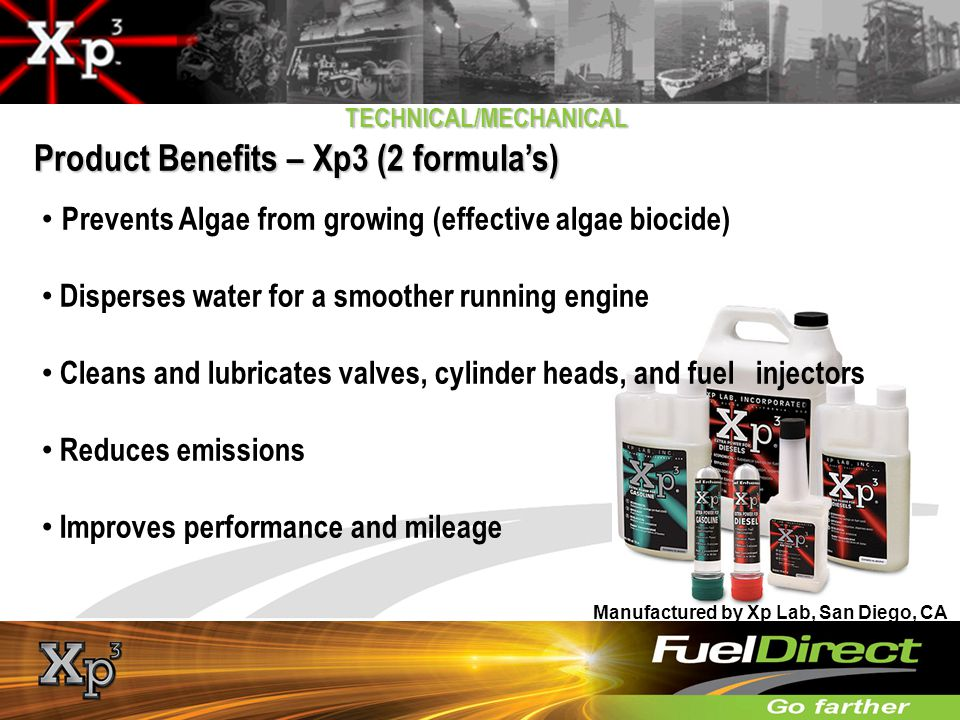 Product Benefits – Xp3 (2 formula's)