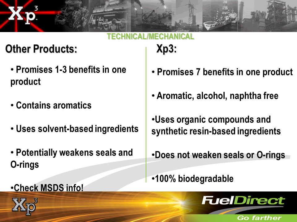 Other Products: Xp3: Promises 1-3 benefits in one product