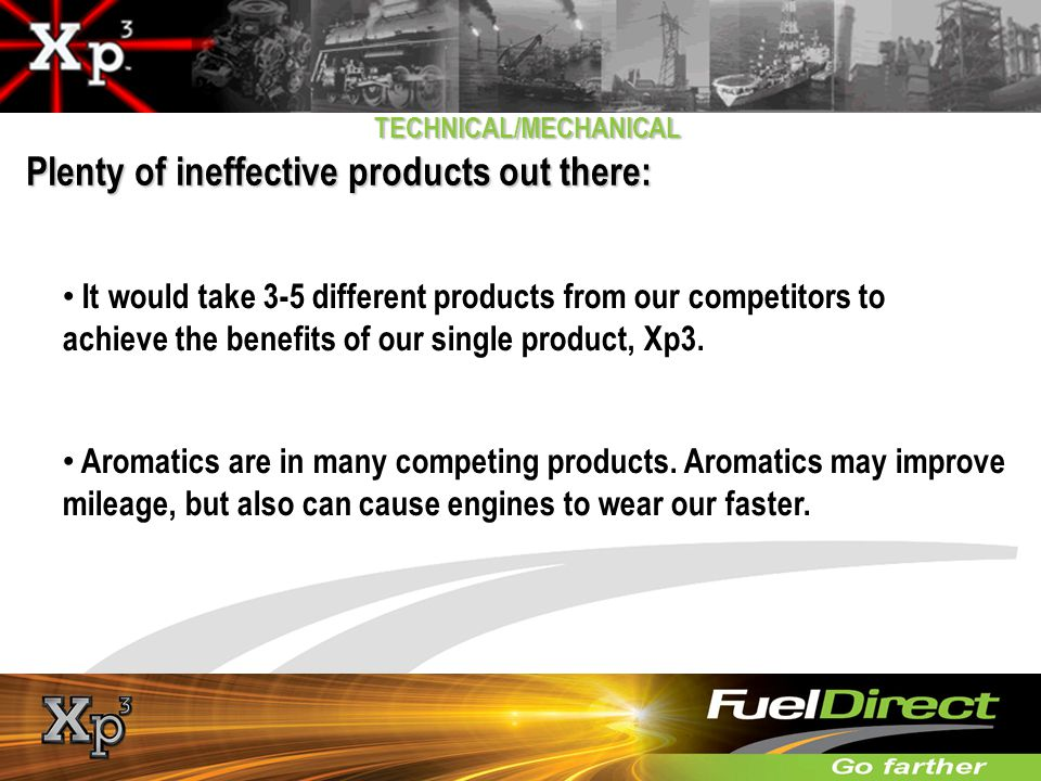 Plenty of ineffective products out there: