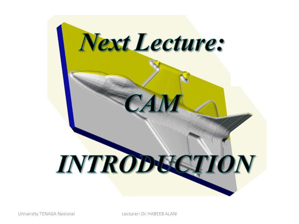Lecturer: Dr. HABEEB ALANI