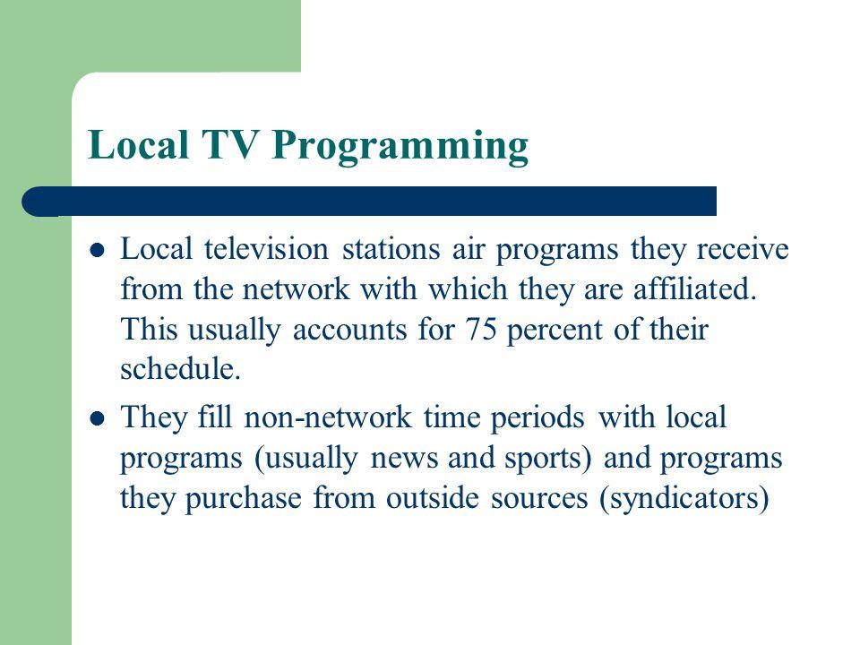 Local TV Programming