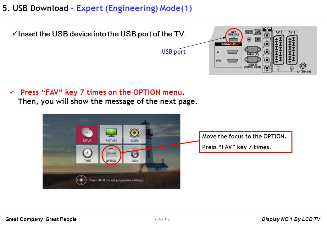 5. USB Download – Expert (Engineering) Mode(1)