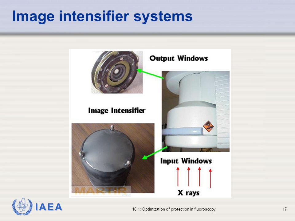 Image intensifier systems