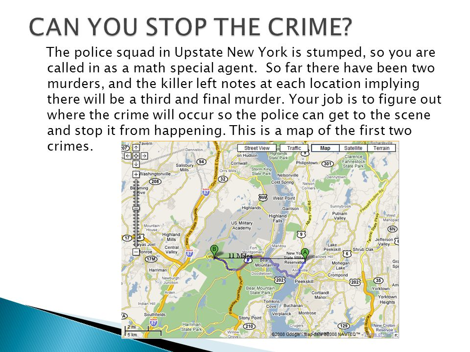 CAN YOU STOP THE CRIME