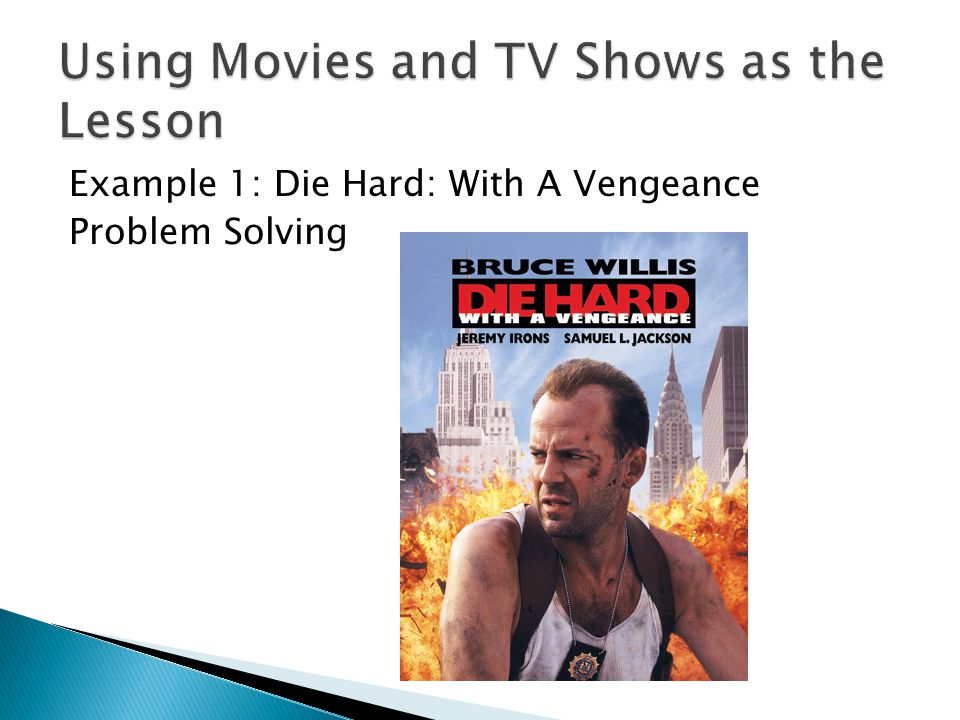 Using Movies and TV Shows as the Lesson