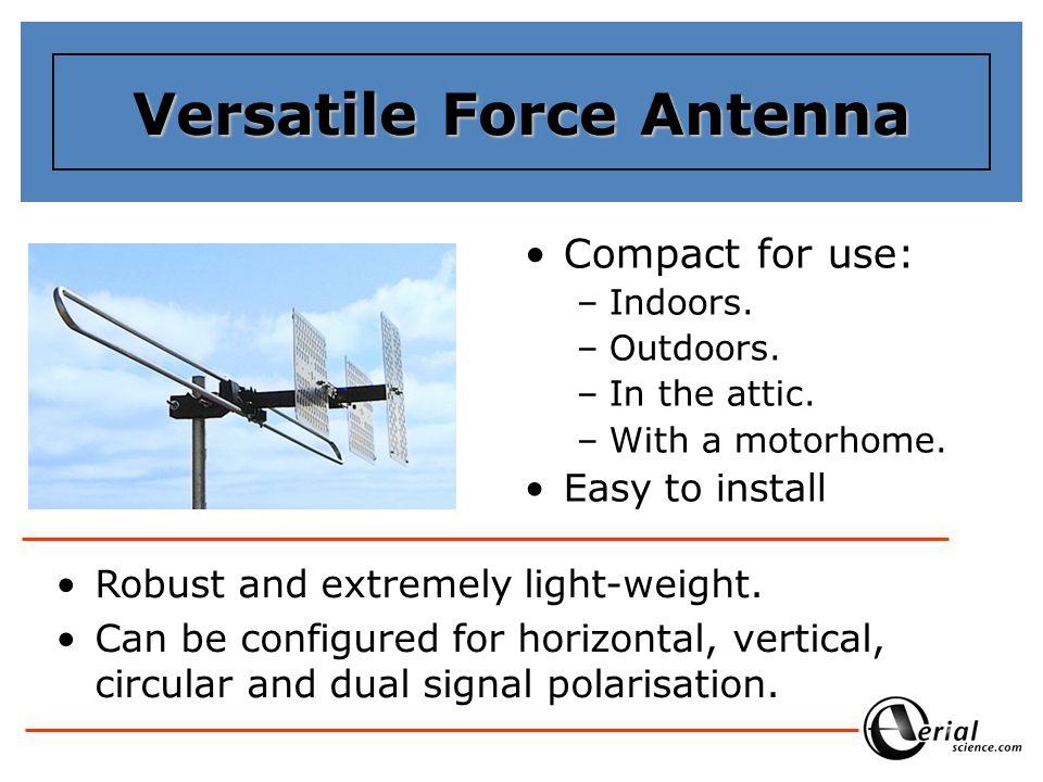 Versatile Force Antenna
