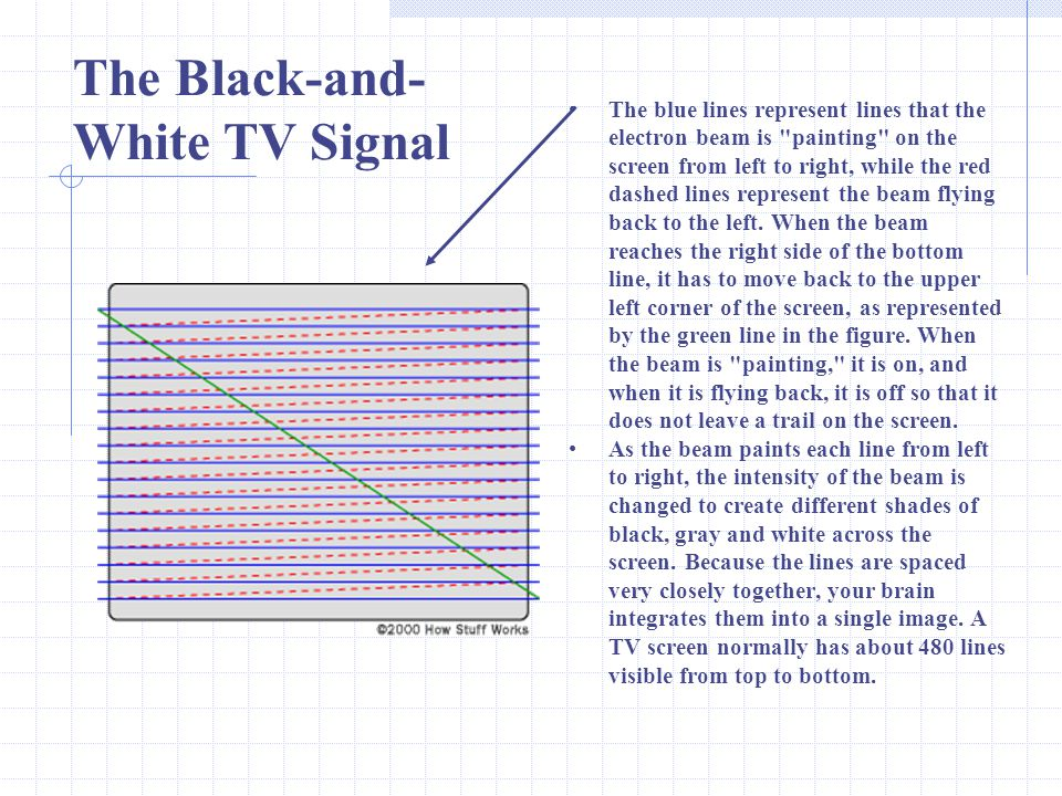 The Black-and-White TV Signal