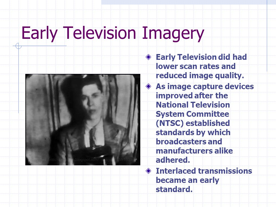 Early Television Imagery