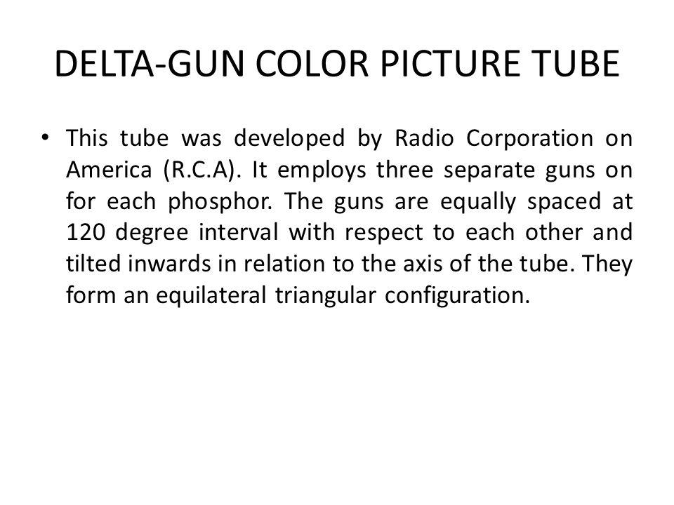 DELTA-GUN COLOR PICTURE TUBE