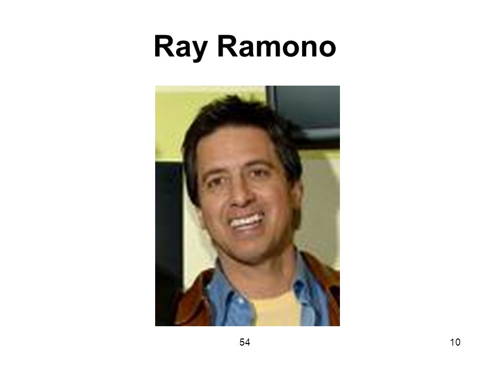 Ray Ramono 54