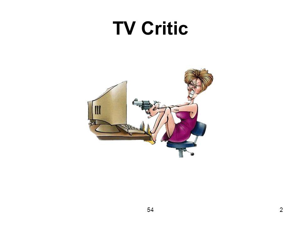 TV Critic 54