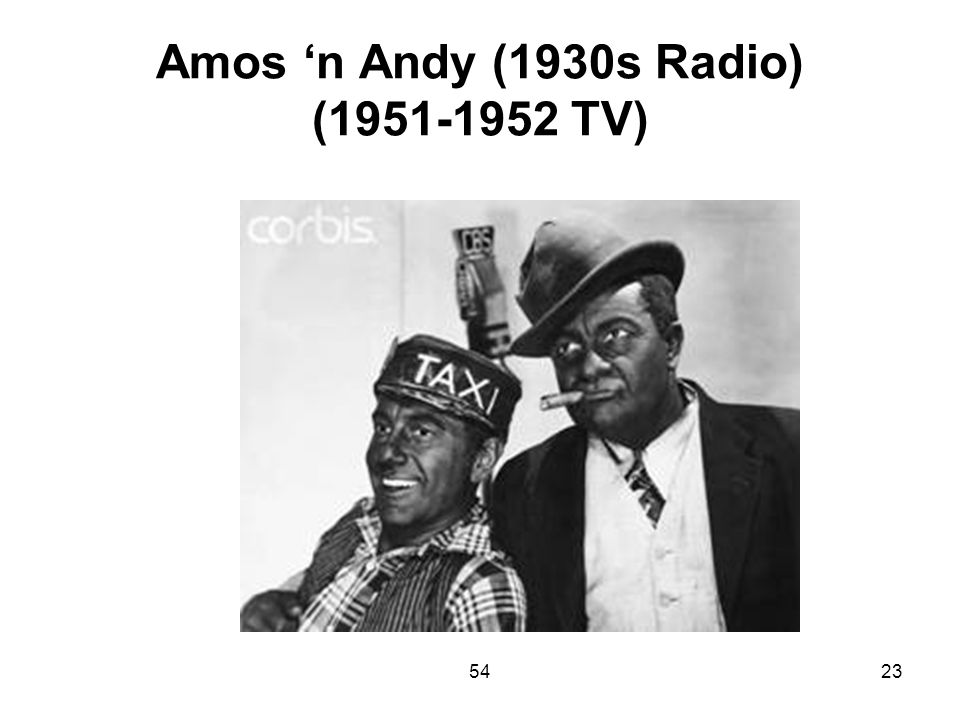 Amos 'n Andy (1930s Radio) (1951-1952 TV)