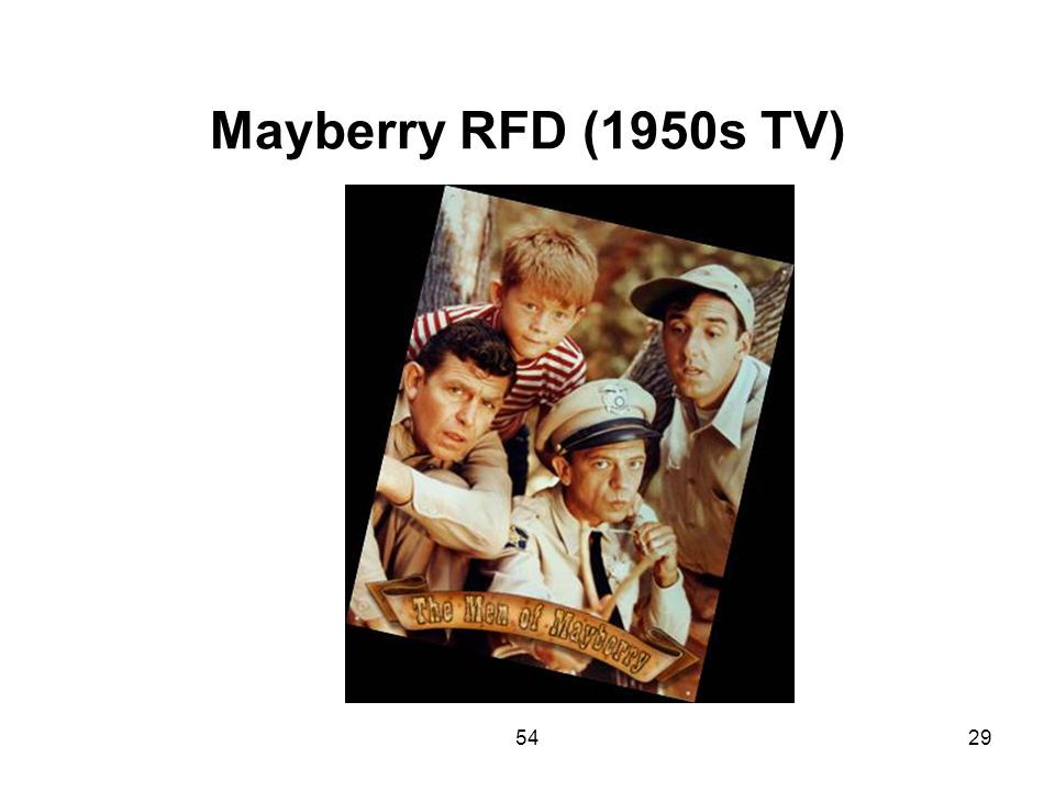 Mayberry RFD (1950s TV) 54