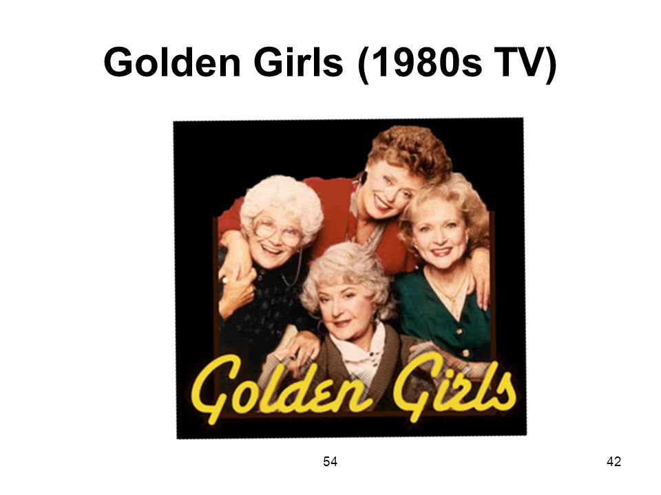 Golden Girls (1980s TV) 54
