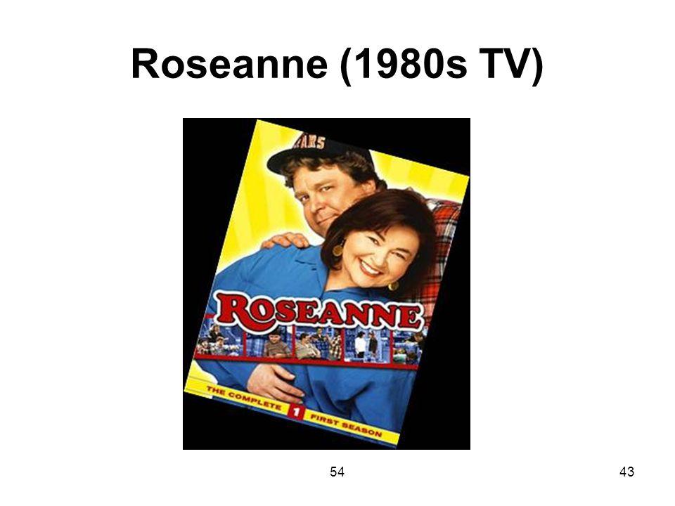 Roseanne (1980s TV) 54