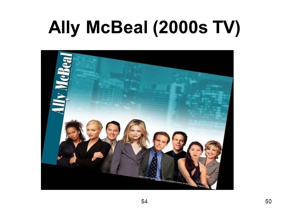Ally McBeal (2000s TV) 54