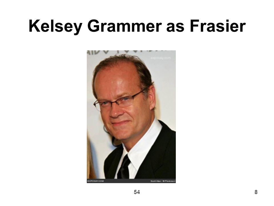 Kelsey Grammer as Frasier