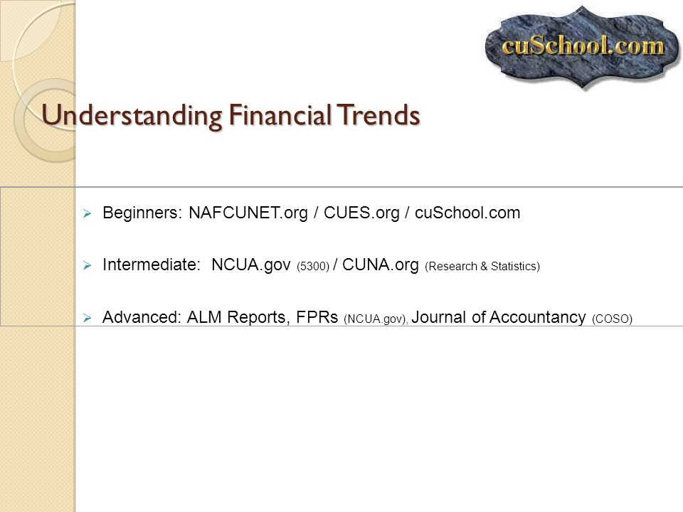 Understanding Financial Trends