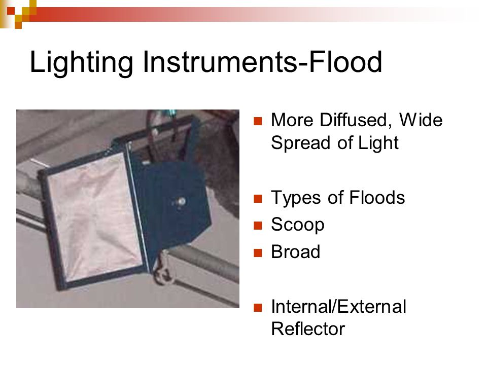 Lighting Instruments-Flood