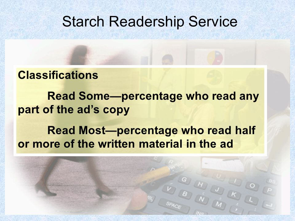 Starch Readership Service