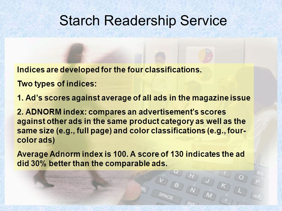 Starch Readership Service