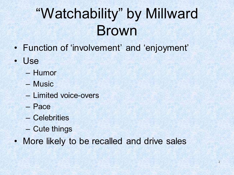 Watchability by Millward Brown