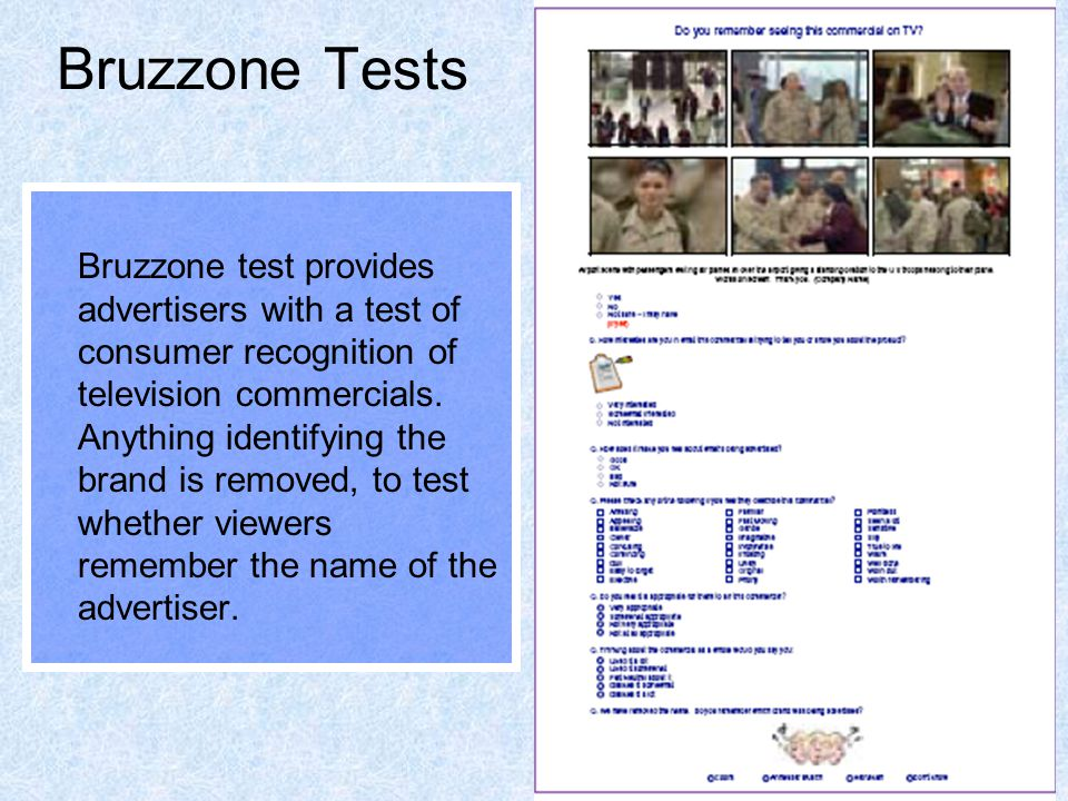 Bruzzone Tests