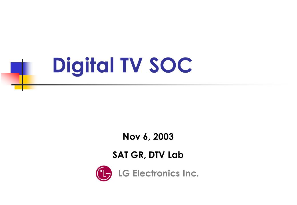 TV technology 방식 1994 DIRECTV (미국 위성 1998 DVB-T, S, C (유럽) 1999 ATSC