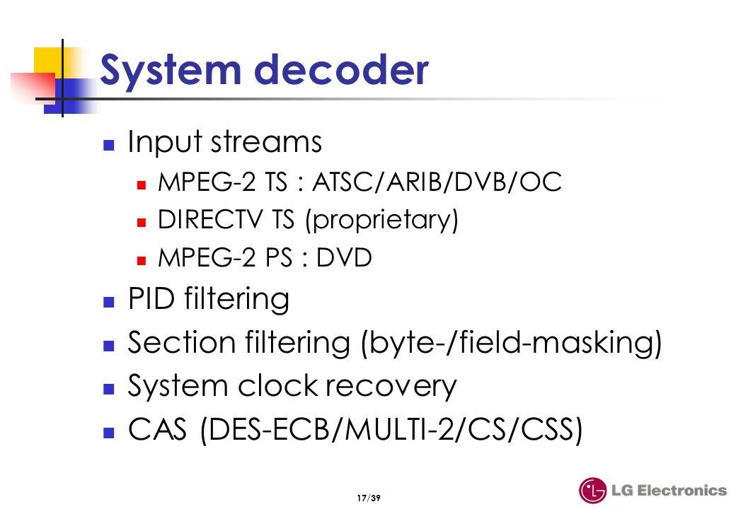 TV technology 방식 1994 DIRECTV (미국 위성 1998 DVB-T, S, C (유럽 ...