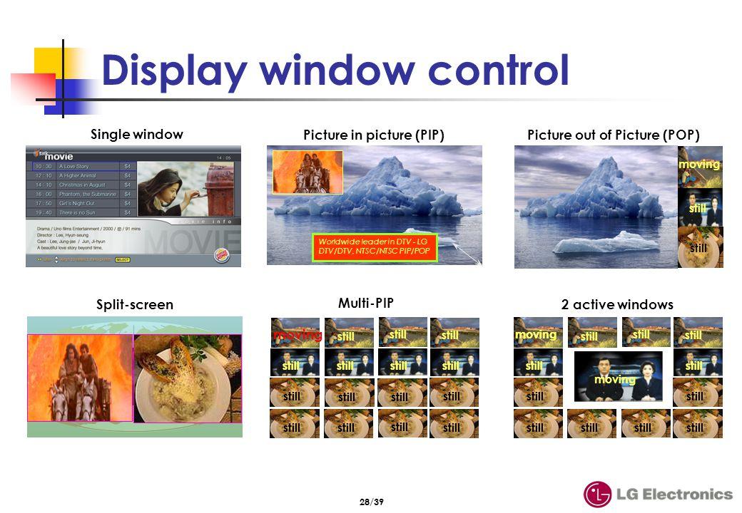眞 細 淨 鮮 XDRpro eXcellent Digital Reality 현장감있는 생생한 HD 영상을 안방에 전달 NTSC