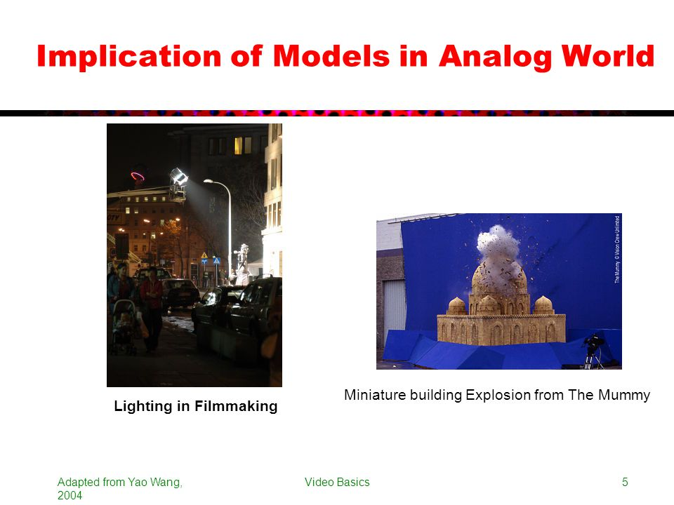 Implication of Models in Analog World