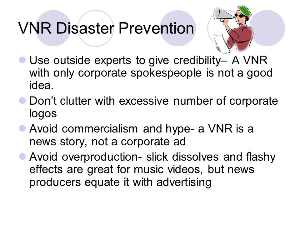 VNR Disaster Prevention