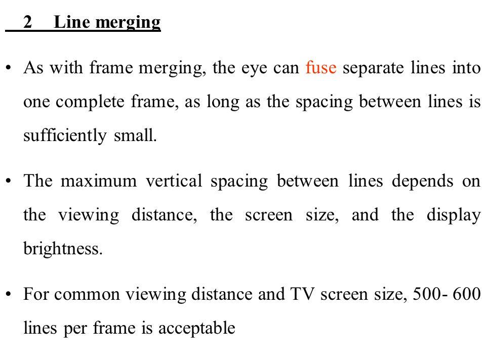 2 Line merging