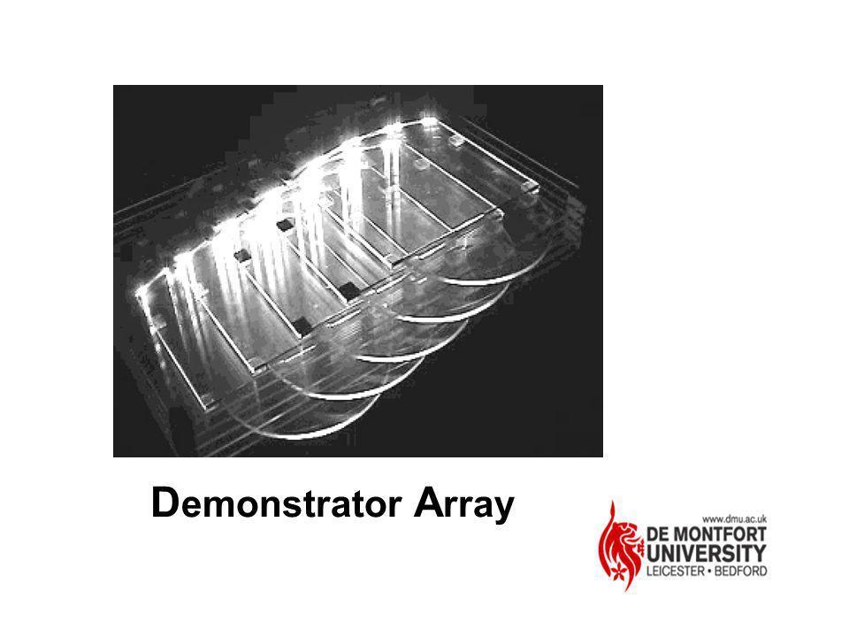 Demonstrator Array