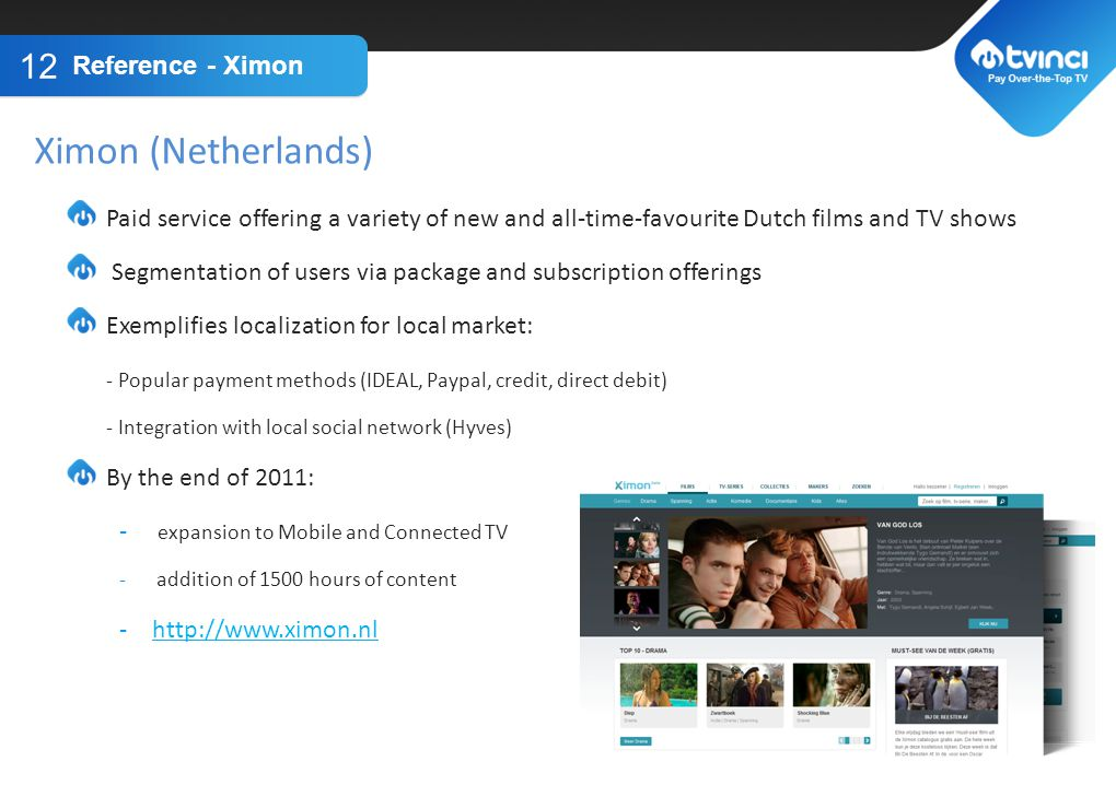 Ximon (Netherlands) TITLE GOES HERE Reference - Ximon