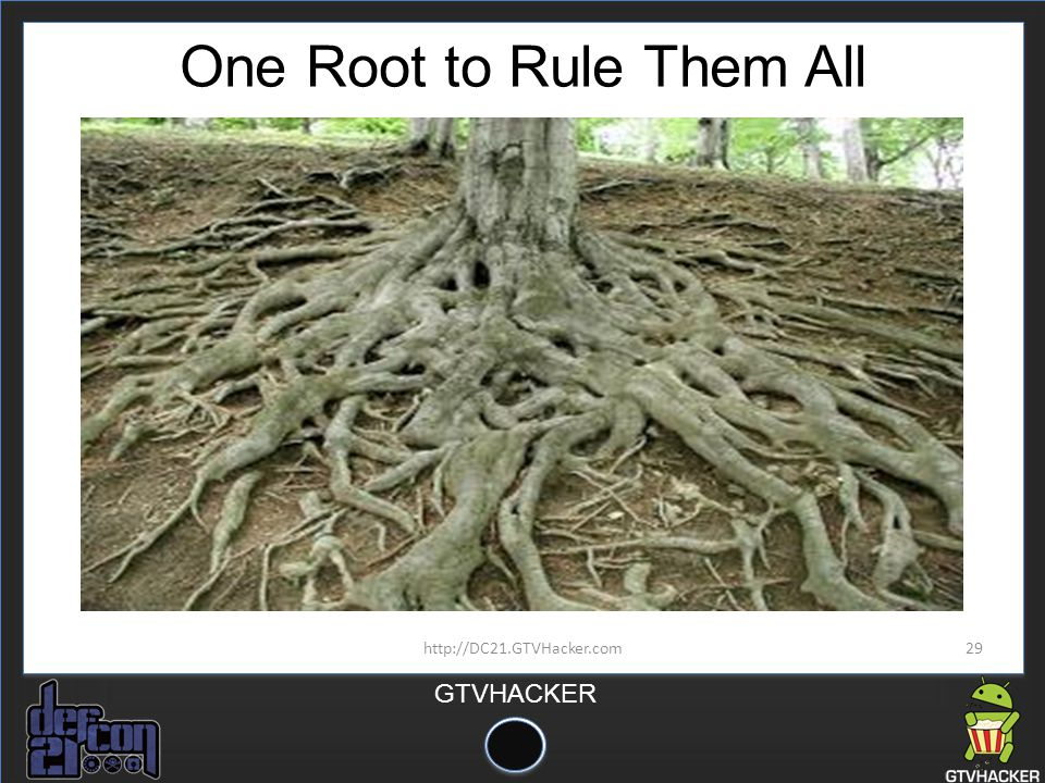 One Root to Rule Them All